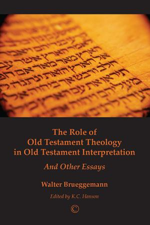 The Role of Old Testament Theology in...